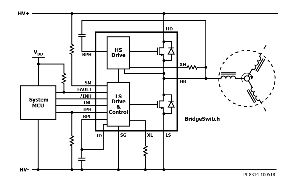 Bridgeswitch Motor Driver